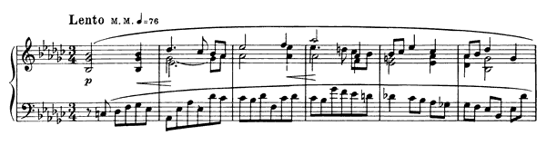 Prelude Op. 11 No. 13  by Scriabin piano sheet music