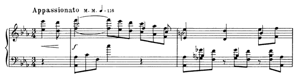 Prelude Op. 11 No. 20  in C Minor by Scriabin piano sheet music