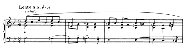 Prelude Op. 11 No. 22  in G Minor by Scriabin piano sheet music