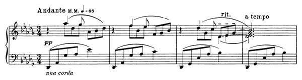 Prelude Op. 17 No. 3  in D-flat Major by Scriabin piano sheet music