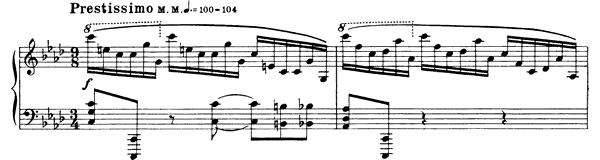 Prelude Op. 17 No. 5  in F Minor by Scriabin piano sheet music