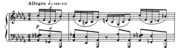 Prelude Op. 35 No. 1  in B-flat Minor by Scriabin piano sheet music