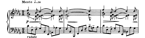 Prelude Op. 37 No. 1  in B-flat Minor by Scriabin piano sheet music