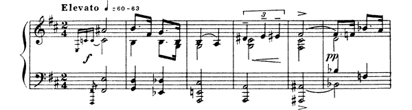Prelude Op. 39 No. 2  in D Major by Scriabin piano sheet music