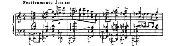 Prelude Op. 48 No. 4  in C Major by Scriabin piano sheet music