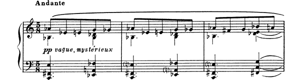 Prelude Op. 67 No. 1  by Scriabin piano sheet music
