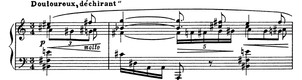 Prelude Op. 74 No. 1  by Scriabin piano sheet music