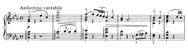 Dumka Op. 59  in C Minor by Tchaikovsky piano sheet music