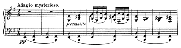 Souvenir de Hapsal Op. 2  in E Minor by Tchaikovsky piano sheet music