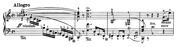 Sonata 1 Op. 24  in C Major by Weber piano sheet music